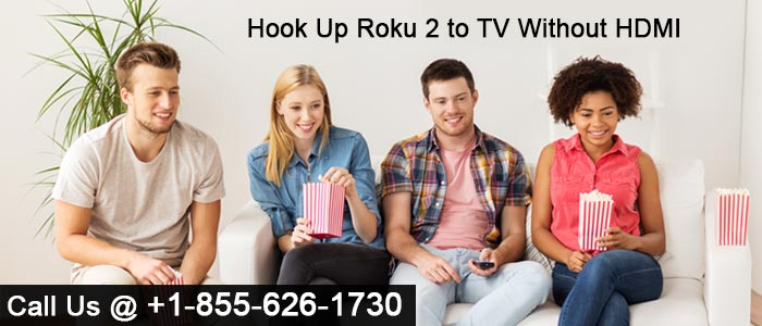 Roku 2 to TV Without HDMI